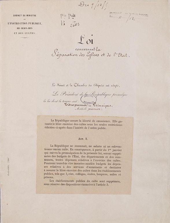 Wikimedia Commons (dépôt Archives nat.)