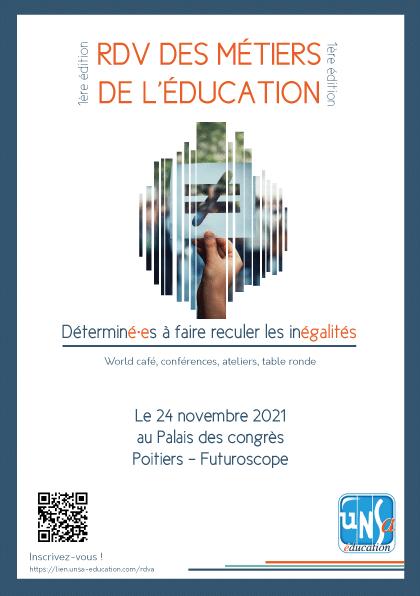 «Déterminé.es à faire reculer les inégalités» : Inscrivez-vous pour le premier rendez-vous des métiers de l'Éducation!